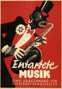 Poster to the exhibition in the year 1938